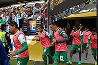 Seattle, WA - Tuesday June 14, 2016: Bolivia  during a Copa America Centenario Group D match between Argentina (ARG) and Bolivia (BOL) at CenturyLink Field.