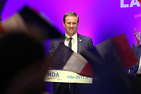 NICOLAS DUPONT AIGNAN EN MEETING A AIX EN PROVENCE, FRANCE, LE 15/04/2017.