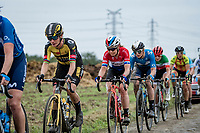 Marianne Vos (NED/Jumbo Visma)<br /> <br /> Inaugural Paris-Roubaix Femmes 2021 (1.WWT)<br /> One day race from Denain to Roubaix (FRA)(116.4km)<br /> <br /> ©kramon