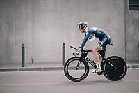 Frederik Backaert (BEL/Wanty Groupe-Gobert) after finishing his TT<br /> <br /> 104th Tour de France 2017<br /> Stage 20 (ITT) - Marseille › Marseille (23km)