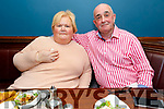 Marian and Ger Keane celebrating 47 years married in the Imperial Hotel on Tuesday.