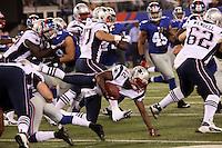 RB Jeff Demps (Patriots) wird gestoppt