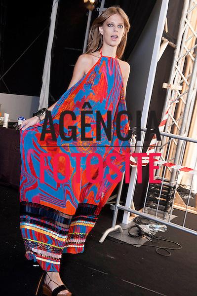 Milao, Itália '09/2014 - Desfile de Roberto Cavalli durante a Semana de moda de Milao  -  Verao 2015. <br /> <br /> Foto: FOTOSITE