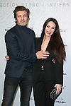 Jesus Olmedo and Nerea Garmendia attends the Emilio Tucci Season Presentation at Circo Price, Madrid,  Spain. January 27, 2015.(ALTERPHOTOS/)Carlos Dafonte)