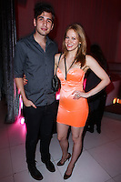 HOLLYWOOD, LOS ANGELES, CA, USA - AUGUST 18: Nick Simmons, Maitland Ward at the Los Angeles Premiere Of Lionsgate Films' 'The Prince' After Party held at Supperclub on August 18, 2014 in Hollywood, Los Angeles, California, United States. (Photo by Xavier Collin/Celebrity Monitor)
