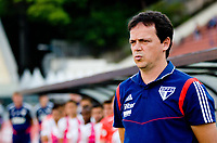 São Paulo (SP), 05/10/2019 - SÃOPAULO-FORTALEZA - Fernando Diniz (técnico) do São Paulo. São Paulo e Fortaleza, pela 23ª rodada do Campeonato Brasileiro 2019, no estádio do Pacaembu, neste sábado (05).