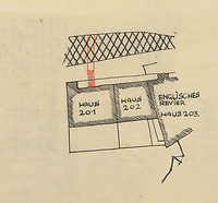 BNPS.co.uk (01202 558833)<br /> Pic: IronCrossMagazine/BNPS<br /> <br /> Pictured: The German map of one of the tunnels dug by the POWs.<br /> <br /> The comical escape attempts made by British officers from a German prisoner of war camp called Castle Tittmoning have been revealed 80 years later.<br /> <br /> The desperate efforts to break out of the little known but rude sounding camp included three men who hid inside a cramped fireplace for eight days before being found by guards covered in soot.<br /> <br /> Other officers hid under piles of rubbish on a horse-drawn cart and allowed themselves to be driven out of the fortress before they were discovered.<br /> <br /> The men expertly made German uniforms out of blankets and brazenly walked out of the camp disguised as guards before being rumbled.
