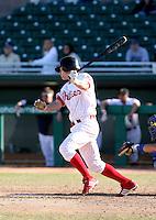 Lou Marson / Mesa Solar Sox 2008 Arizona Fall League..Photo by:  Bill Mitchell/Four Seam Images