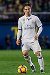 Luka Modric of Real Madrid in action during their La Liga match between Villarreal CF and Real Madrid at the Estadio de la Cerámica on 26 February 2017 in Villarreal, Spain. Photo by Maria Jose Segovia Carmona / Power Sport Images
