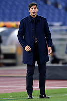 Paulo Fonseca coach of AS Roma reacts during the Europa League Group Stage A football match between AS Roma and CSKA Sofia at stadio olimpico in Roma (Italy), October, 29th, 2020. Photo Andrea Staccioli / Insidefoto