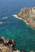 - island of Pantelleria, the coast near Spadillo Point....- isola di Pantelleria, la costa nei pressi di punta Spadillo