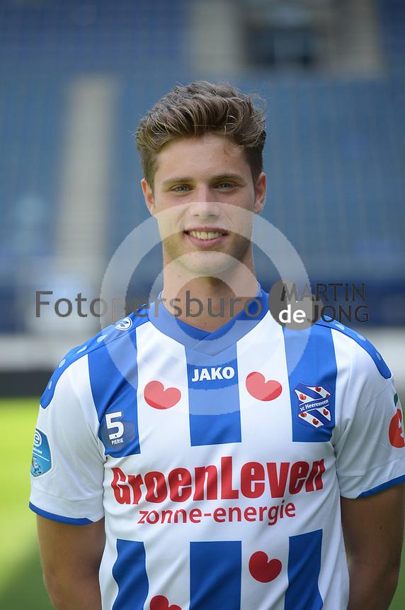 VOETBAL: HEERENVEEN: 17-07-2018, Abe Lenstra Stadion, SC Heerenveen Teampresentatie Pers, Kik Pierie, ©foto Martin de Jong