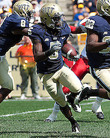 Pitt wide receiver Cameron Saddler. The Pittsburgh Panthers defeated the Youngstown State Penguins 38-3 at Heinz Field on September 5, 2009.