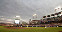 TD Ameritrade Park in Omaha, Nebraska home of theNCAA College World Series on June 18, 2015. (Andrew Woolley/Four Seam Images)