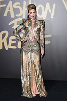 LONDON, UK. September 14, 2019: Gabriella Gonzalez at the Fashion for Relief Show 2019 at the British Museum, London.<br /> Picture: Steve Vas/Featureflash