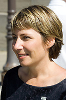 Stock photo of Ann Bourget, the current city councillor for the Montcalm district in the city of QuÈbec, Quebec, Canada and the leader of the Renouveau municipal de QuÈbec, the political party holding the majority of the seats in the city council.<br /> <br /> PHOTO :  Francis Vachon - Agence Quebec Presse
