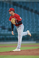 ACL Reds starting pitcher Hunter Parks (51) during a game against the ACL Cubs on September 17, 2021 at Sloan Park in Mesa, Arizona. (Tracy Proffitt/Four Seam Images)