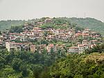 Houses on the hillside, Veliko Tarnovo, Bulgaria