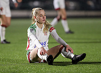 Tess Lameir (18) of OHL pictured during a female soccer game between Oud Heverlee Leuven and RSC Anderlecht on the 12 th matchday of the 2020 - 2021 season of Belgian Womens Super League , sunday 31 st of January 2021  in Heverlee , Belgium . PHOTO SPORTPIX.BE | SPP | SEVIL OKTEM