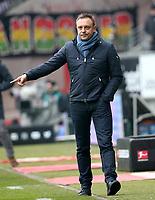 03.03.2018, Commerzbank - Arena, Frankfurt, GER, 1.FBL, Eintracht Frankfurt vs Hannover 96 , <br />Trainer Andre Breitenreiter (Hannover) *** Local Caption *** © pixathlon