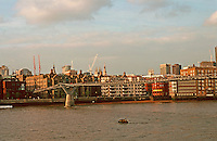 London:  3.  Panorama--from Tate Modern.  Photo '90.