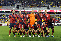 United States starting eleven. The men's national team of the United States (USA) Ecuador (ECU) during an international friendly at Red Bull Arena in Harrison, NJ, on October 11, 2011.