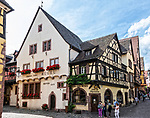 The Hugel winery and tasting room, Riquewihr