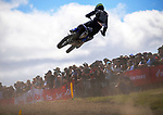 MX2 race one. 2021 New Zealand Motocross Grand Prix at Old Gorge Road in Woodville , New Zealand on Sunday, 31  January 2021. Photo: Dave Lintott / lintottphoto.co.nz