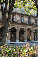 Europe/Espagne/Guipuscoa/Pays Basque/Saint-Sébastien: Jardin place de Guipuzcoa