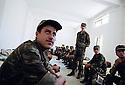 Irak 2002  Entrainement militaire à Diana, le dortoir Iraq 2002 Military training in Diana, the dormitory
