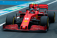 10th October 2020, Nuerburgring, Nuerburg, Germany; FIA Formula 1 Eifel Grand Prix, Qualifying sessions;  16 Charles Leclerc MCO, Scuderia Ferrari Mission Winnow