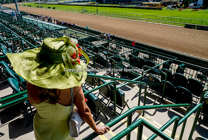 September 5, 2020: Scenes from Kentucky Derby Day. The races are being run without fans due to the coronavirus pandemic that has gripped the world and nation for much of the year, with only essential personnel, media and ownership connections allowed to attend at Churchill Downs in Louisville, Kentucky. Scott Serio/Eclipse Sportswire/CSM