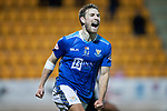 St Johnstone v Hamilton Accies…10.11.18…   McDiarmid Park    SPFL<br />David Wotherspoon celebrates his goal<br />Picture by Graeme Hart. <br />Copyright Perthshire Picture Agency<br />Tel: 01738 623350  Mobile: 07990 594431