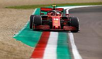 1st November 2020, Imola, Italy; FIA Formula 1 Grand Prix Emilia Romagna, Race Day; 16 Charles Leclerc MCO, Scuderia Ferrari Mission WinnowFerrari Mission Winnow , Imola Italy
