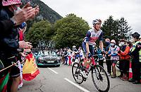 Toms Skujins (LVA/Trek-Segafredo) up the Col de Marie Blanque (HC)<br /> <br /> Stage 9 from Pau to Laruns (153km)<br /> <br /> 107th Tour de France 2020 (2.UWT)<br /> (the 'postponed edition' held in september)<br /> <br /> ©kramon