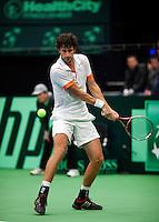 10-02-12, Netherlands,Tennis, Den Bosch, Daviscup Netherlands-Finland,Robin Haase
