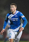 St Johnstone v Hamilton Accies…28.01.17     SPFL    McDiarmid Park<br />David Wotherspoon<br />Picture by Graeme Hart.<br />Copyright Perthshire Picture Agency<br />Tel: 01738 623350  Mobile: 07990 594431