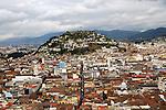 Cerro Panecillo quito ecuador.