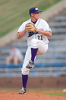 Levi Maxwell #22 of the Winston-Salem Dash in action versus the Frederick Keys at Wake Forest Baseball Stadium August 6, 2009 in Winston-Salem, North Carolina. (Photo by Brian Westerholt / Four Seam Images)