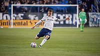 SAN JOSE, CA - MAY 01: Julian Gressel #31 of DC United passes the ball during a game between San Jose Earthquakes and D.C. United at PayPal Park on May 01, 2021 in San Jose, California.