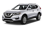 2020 Nissan Rogue S 5 Door SUV Angular Front automotive stock photos of front three quarter view