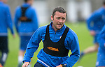 St Johnstone Training…22.07.16<br />Tam Scobbie pictured during training this morning at McDiarmid Park ahead of tomorrows Betfred Cup game against his former team Falkirk.<br />Picture by Graeme Hart.<br />Copyright Perthshire Picture Agency<br />Tel: 01738 623350  Mobile: 07990 594431