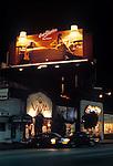 Eric Clapton billboard on the Sunset Strip circa 1978