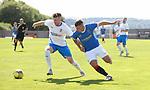 17.07.2021 Rangers B v Bo'ness Utd: Murray Miller and Arron Lyall