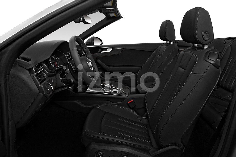 Front seat view of 2021 Audi A5-Cabriolet Avus 2 Door Convertible Front Seat  car photos