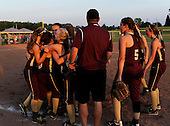 NYSPHSAA Section V Class-BB Championship softball game between the Wayland-Cohocton Golden Eagles and Attica Lady Devils at Monroe Community College on May 30, 2013 in Rochester, New York. Way-Co defeated Attica 9-2.  (Copyright Mike Janes Photography)