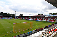 General view of the Lamex Stadium during Stevenage vs Watford, Friendly Match Football at the Lamex Stadium on 27th July 2021