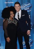 Trent Harmon + LaPorsha Renae @ the American Idol Farewell Season finale held @ the Dolby Theatre.<br /> April 7, 2016