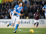 St Johnstone v Hearts…05.04.17     SPFL    McDiarmid Park<br />Blair Alston<br />Picture by Graeme Hart.<br />Copyright Perthshire Picture Agency<br />Tel: 01738 623350  Mobile: 07990 594431