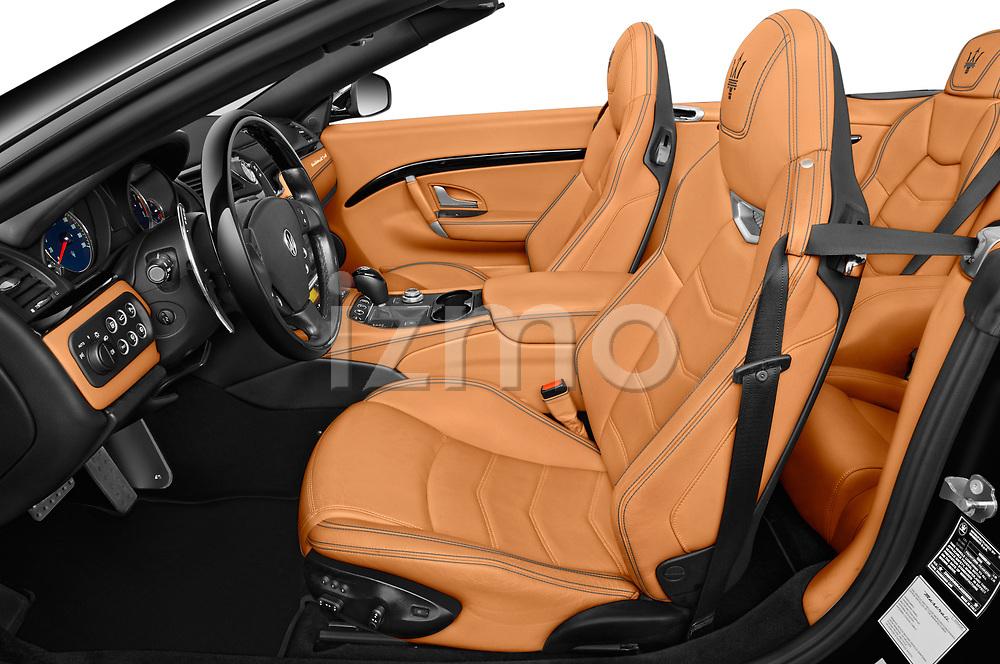 Front seat view of 2018 Maserati Gran-Turismo Sport 2 Door Convertible Front Seat  car photos